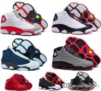 Cheap Original retro Air 13 men basketball shoes online cheapest the best quality real 1:1 sneakers US 8-13 free shipping WITH BOX