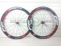 Wholesale Carbon Bikes Rims - 2016 new Fast Forward FFWD F5R 700c 23mm width 50mm rim 3k UD twill weave carbon road wheels racing clincher Tubular wheelset F4R F5R F6R