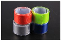 Wholesale High Quality Bike Cylcing Leg Pants Band Strap Reflective Belt without any printing colors available W1129