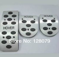 Wholesale Great Wall Haval Hover H3 H5 H6 M2 M4 MT AT aluminum alloy car pedals foot pedal
