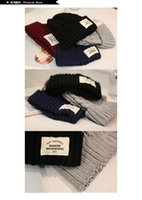 acrylic yarn uses - Winter Casual Cotton Knit beanie Hats For Women Men colors warm winter fashion beautiful outdoor use