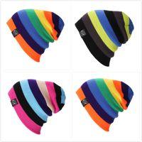 Wholesale Unisex Cap hat Brand SUSNSK Winter Skiing Men Women s Caps Hats hip hop single board skating knitted hat Neff outdoor sport hat