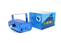 Wholesale Mini stars red blue laser light KTV laser light Christmas lamps inserted stage lamp star laser lighting