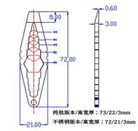 allen screwdriver - EDC Tool Pure Titanium Stainless Steel Multi tool Key Clip Allen Key Screwdriver Line Cutting Stainless Steel Tool