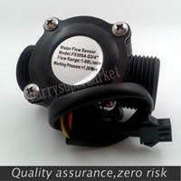 Wholesale G3 quot Water Flow Hall Sensor Switch Flow Meter Flowmeter Counter L min