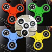 Wholesale 7 Colors Hand Spinner Fidget Metal Ball Bearings Desk Toy Stress Reliever Fun Toy For Decompression Anxiety fidge Finget Spinner Toys F