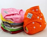 Wholesale Summer Adjustable Reusable Baby Washable Cloth Diaper Nappies INSERTS