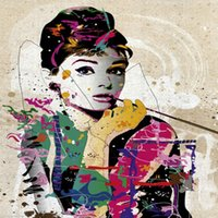 audrey hepburn film - 2016 New renoir jigsaw puzzle characters film star Audrey Hepburn super good