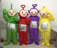 adult teletubbies costumes - Hot selling Adult cute the Red the Teletubbies Mascot Costume the Teletubbies fancy dress festive clothing