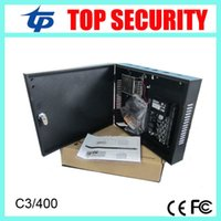 Wholesale C3 card access control system doors access control panel with power supply protect box TCP IP communication with software