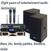 Wholesale high density composite board box W best hot sell profassional trable Karaoke Speaker KTV sound family sound FK