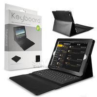 apple bluetooth keyboard with ipad - For iPad Bluetooth Wireless Keyboard PU Leather Case For iPad Mini iPad Air Bluetooth Keyboard with Retail Package