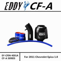 Wholesale Fit For Chevrolet Epica Fine Quality Racing Brand EDDYSTAR EDDY Carbon Fiber Cold Air Intake System Air Filter