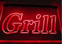 bbq grills commercial - Grill OPEN Bar Pub BBQ NEW NR club d signs led neon light sign