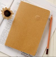 Wholesale A5 B5 Kraft paper Soft Copybook Daily Memos business dairy simple K k useful sheets