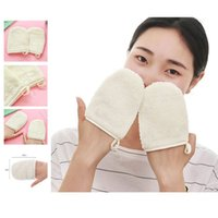 Wholesale New Arrival Pc Fashion Reusable Microfiber Facial Cloth Face Towel Makeup Remover Cleansing Glove Tool Remover Cleansing Glove