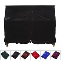 Wholesale Sales Pleuche Musical Piano Dust proof Cover Dust Guard Tool for Upright piano