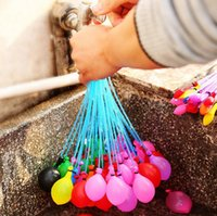Wholesale Quickly Filling Magic Water Filled Balloon Bag Fight Kick Summer Toy Necessary Fetching Water War