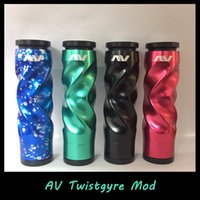 Av mods France-Haute qualité AV Twistgyre Starter Kit 24mm Diamètre 510 Fil avec une batterie 18650 AV Twistgyre Mod en stock