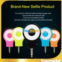 Wholesale 2016 Newest Retina Portable Selfie LED Flash for iPhone S SE S Plus Samsung Galaxy S6 Edge S7 Note LG HTC