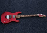 Wholesale SHIJIE electric guitar Tone Master FR series see thru red color H H pickups electric guitar