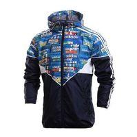 Wholesale Hot Sale Spring And Fall new men s sports jacket hooded jacket Men casual Fashion Thin Windbreaker Zipper Coats