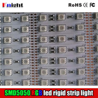 bar light box - RGB SMD5050 rigid strip light bar M M M M single color LED light bar v for cabinet avertising lamp box year guaranty m