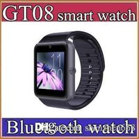 best rated watches - 30X Best Quality Bluetooth Smart Watch GT08For Android IOS iPhone Wrist Wear Support Sync SIM TF Card Camera Pedometer Sleep Monitoring C BS