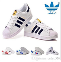 Wholesale 2017 Family Matching Originals Superstar S shoes New Low Fashion Sneaker Men s Women s comfortable sneakers shoes free s
