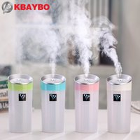 Wholesale 300ML Ultrasonic Humidifier USB Car Humidifier Mini Aroma Essential Oil Diffuser Aromatherapy Mist Maker Home Office