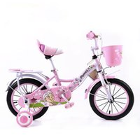 bicycle seats baby - new toy inch two seat high quality kids baby bicycle cartoon sticker folding children bicycle