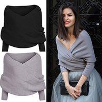 Wholesale Women Long Sleeve Loose Cardigan Knitted Sweater Jumper Knitwear Outwear Coat