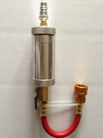 auto ac compressor oil - auto ac repair tool R134A R12 R22 refrigerant oil filling tool compressor oil charger oil injector