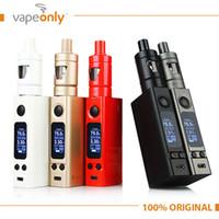 Wholesale Original Joyetech eVic VTC Mini Starter Kit e Cigarette with ml TRON S Atomizer eVic VTC Mini W Box Mod Kit VS Evic vtwo
