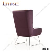 Wholesale B112 Simple design hot sale plywooden frame inside base by stainless steel or rose golden hotel furniture