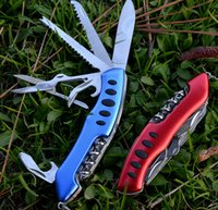 backup knife - 2017 mm multi functional Swiss Army knife stainless steel horizontal open camping tool backup tool