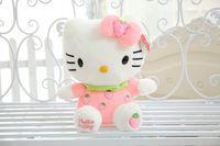 Wholesale 60cm Hello Kitty Fruit Flush Stuffed KT Toy KT gift Strawberry Hello Kitty Toy Price HANCHENEXP