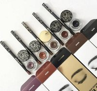 Wholesale Kylie Eyeliner Pen Gel Eyebrow Brush KYLINER KIT Black Brown Bronze Chameleon Eye Make up Cosmetics