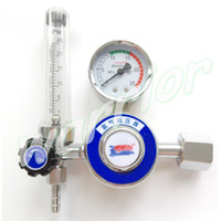 argon pressure regulator - TIG Welding Argon Regulator AR Reduced Pressure Gas Flowmeter Gauge