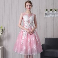 Wholesale The new fall short dress party dress lace dress natural fresh sisters the bridesmaid dresses