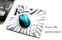 Wholesale Super invincible special effects Anti Slip Durabble Rubber Backing Mouse Pad Computer Mouse Mice Mat Mousepad For Laser Optical Mouse Mice