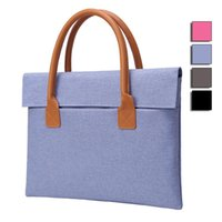Wholesale High Quality Oxford Laptop Bags Slim Light Weight Laptop Case Hand Bag Ultrabook Carry Tote Bag Colors ZG0069
