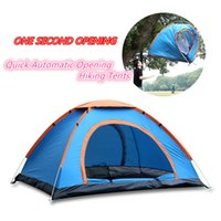 Wholesale DHL Quick Automatic Opening Hiking Tents Outdoors Camping Shelters UV Protection Beach Camping Tent Hiking Beach Travel Lawn Tourist bedroom