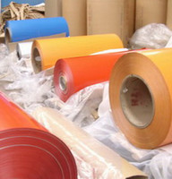 Wholesale colour coated aluminum coils price in factory