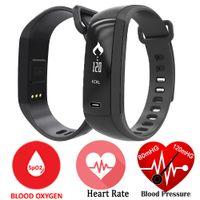 Bracelet M2 Bande Sang Oxygène Moniteur Bracelet Bluetooth Smartwatch Montre-bracelet Podomètre Fitness Activity Tracker WristBand