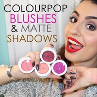 Wholesale High quality Colourpop Matte Eyeshadow Super Shock Eye Shadow Blush Colour pop Waterproof Face Eye Makeup Long lasting Cosmestics