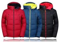 Wholesale 2016 Mammoth Brand Winter Jacket Men s White Duck Down Coat Waterproof Mountain Hiking Jacket Windproof Ski Jacket