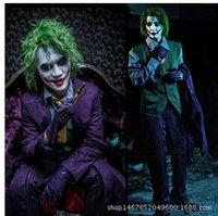 adult knight costume - Costumes Men s Batman Dark Knight The Joker Deluxe Adult Costume SWISSANT