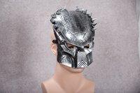 al por mayor película al rojo vivo-Predator Máscara de tema de película Máscara de operaciones de campo caliente venta El más popular estilo de toda la red Máscara de hip-hop Máscara de hombre
