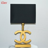 Wholesale Creative fashion luxury living room lamp bedside Table lamps hotel room desk lights quality guarantee